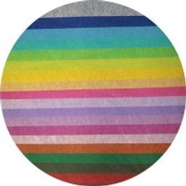 Seidenpapier Premium [Farbmix - 20x1 Blatt]