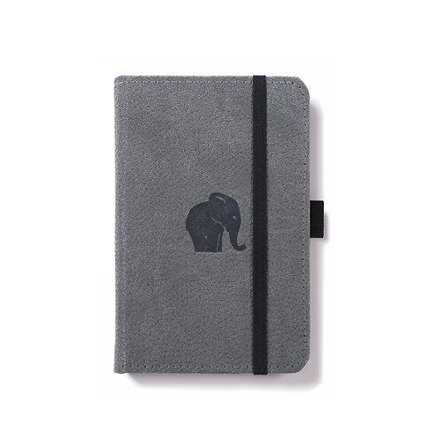 Dingbats A6 Pocket Notizbuch [Grauer/Elefant]