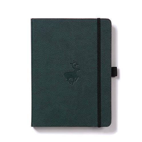 Dingbats A5+ Notizbuch [Grün/Hirsch]