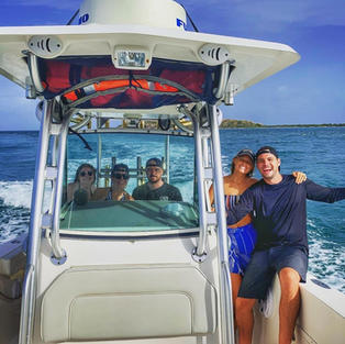 Have a fun day on the water with Salty Badger Charters!