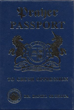 Prayer Passport to Crush Opression