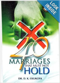 40 Marriages that must not take Place