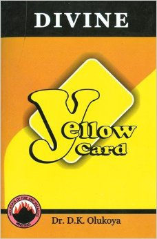 Divine Yellow Card