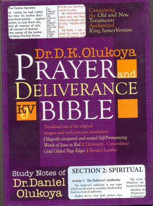 PRAYER AND DELIVERANCE BIBLE [BIG]