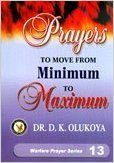 Prayer from Minimum to Maximum