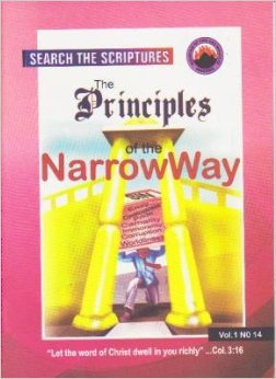 Principles ofthe Narrw Way