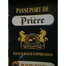 Passeport De Priere Pour Ecraser L'oppression (Prayer Passport) French Edition Price $50.00