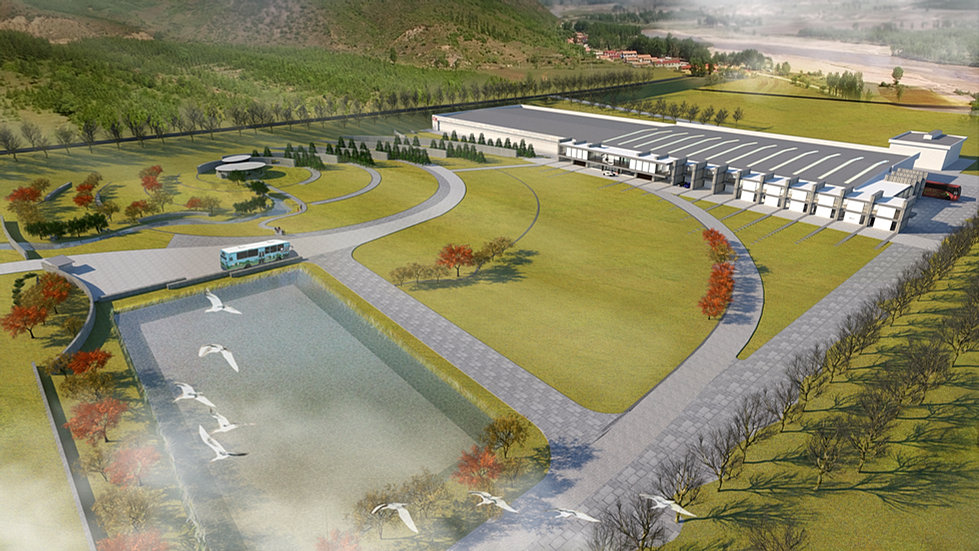 Cendes international project3004 mulanwater for Sichuan cendes architectural design company limited