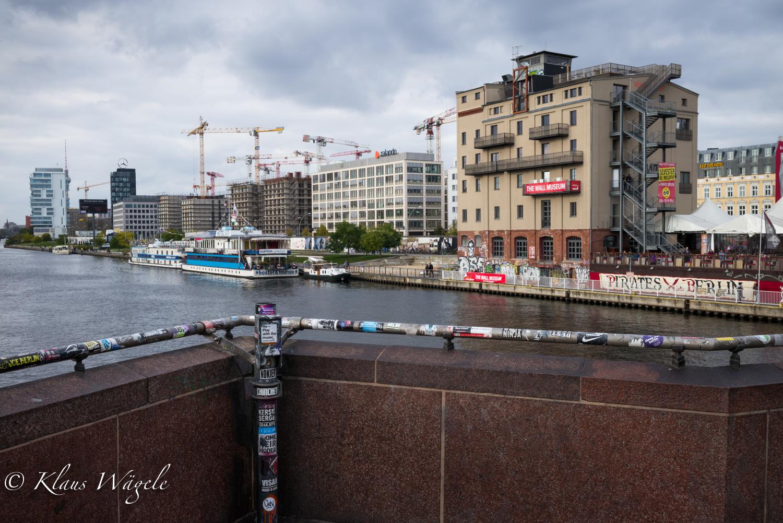 View from Oberbaumbrücke Berlin