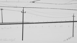 Street, Piles, Wires, (Bavaria, Germany)