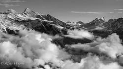 Mountain Range, Fog (Grindelwald, Switzerland)