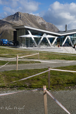 Ski Arena in the Summer (St. Moritz)