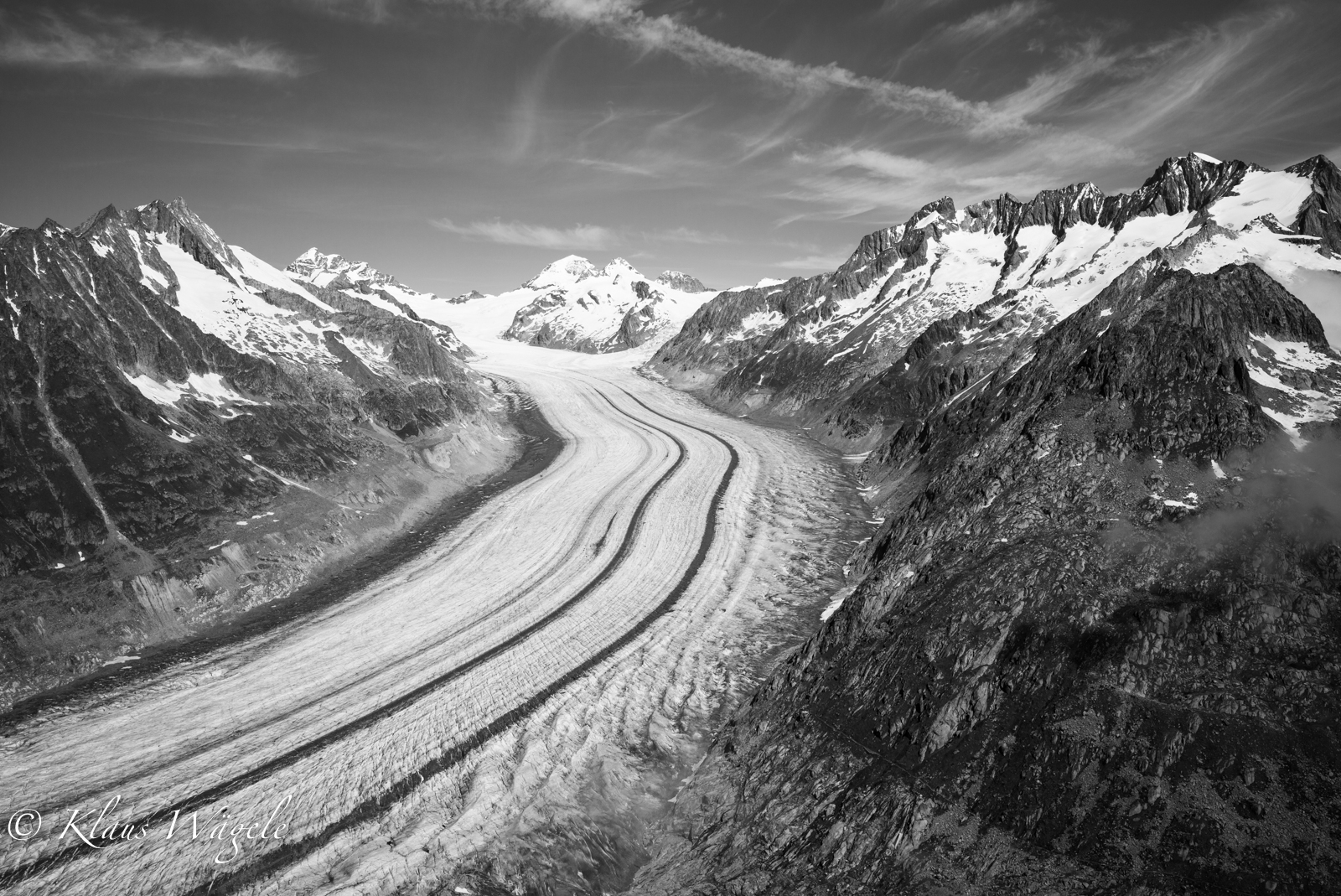 Glacier Aletsch (Switzerland)