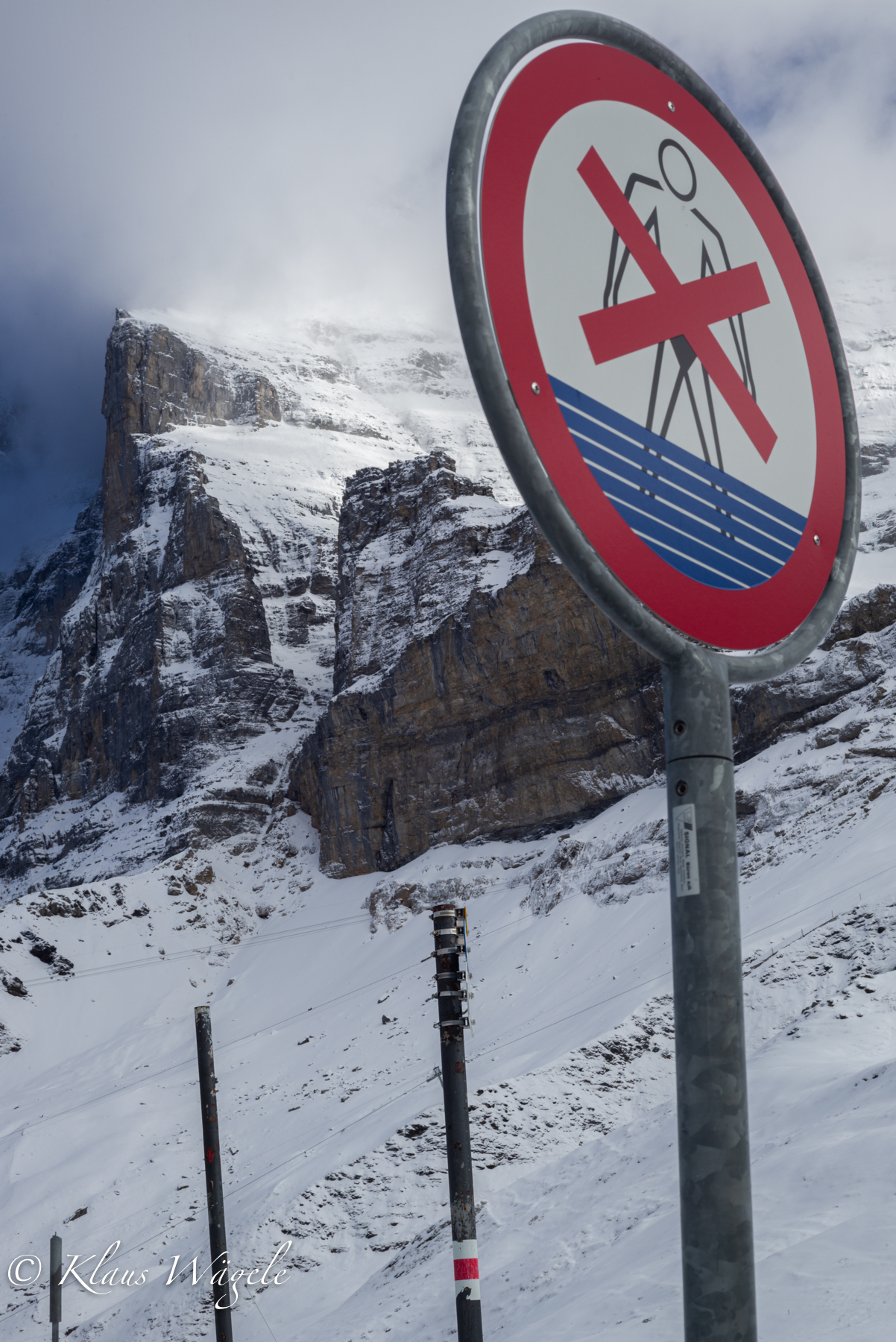 No Swimming at Eiger (Switzerland)