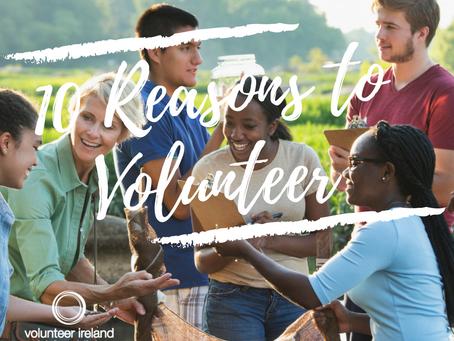 10 reasons to volunteer