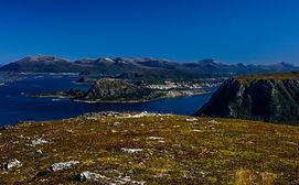 Grøthornet mot Ålesund