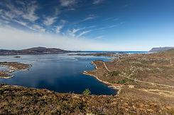 Røyrafjellet mot Blikvågen