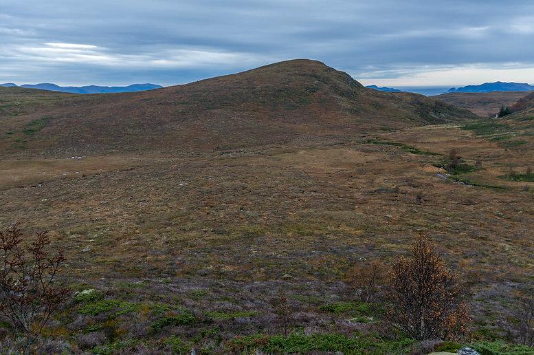 Breifjellet frå Osnesdalen