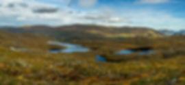 Trollvatnet og Middagsvatnet