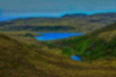 Osnesdalen og Lisjevatnet frå Kiberget