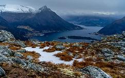Ørstafjorden og Liadalsnipa