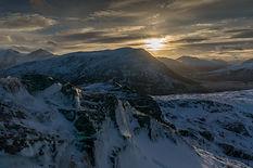 Løkeberget frå Ramnefjellet