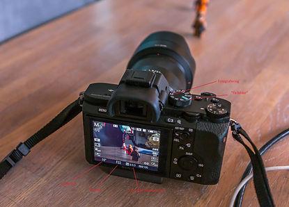 Kamera og basisinnstillingar