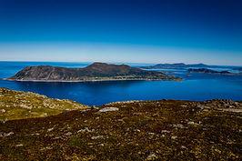 Valderøya frå Grøthornet