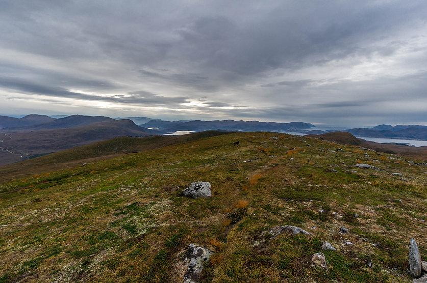 Bjørnenakken mot Osnesdalen
