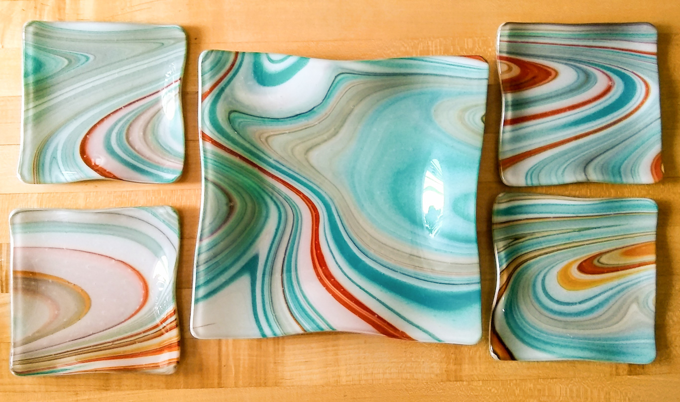 SW Plate Set of 5