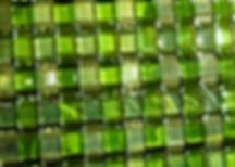 Glass Eye Art Buena Vista Green Weave