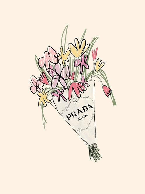 Prada Bouquet Print