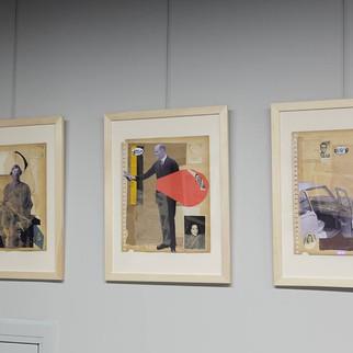 Retroavangarda's Collage Art Exhibition, Varsóvia- 2019