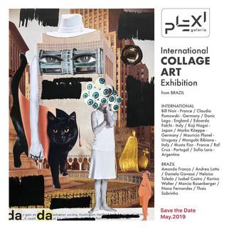 International Collage Art Exhibition Galeria Plexi - São Paulo - 2019