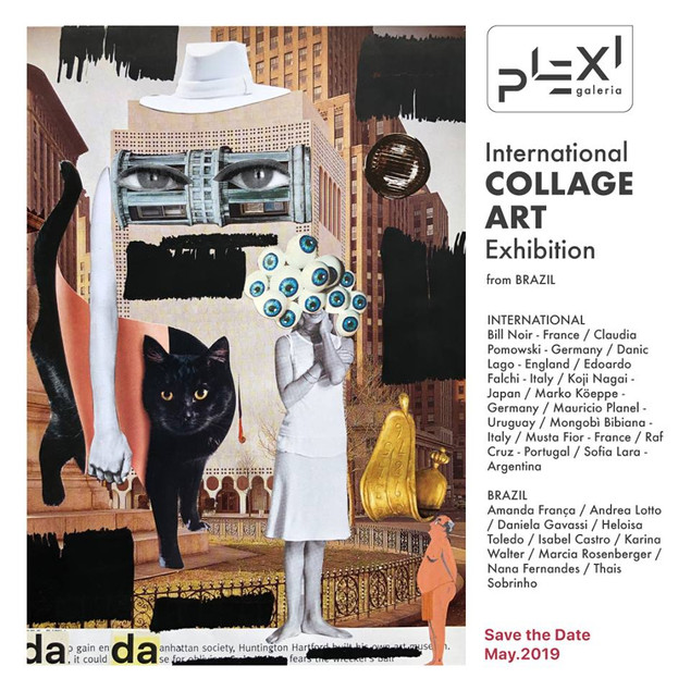 International Collage Art Exhibition Galeria Plexi - São Paulo - 2019