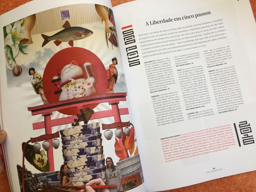 Revista Sushi Leblon - 30 anos