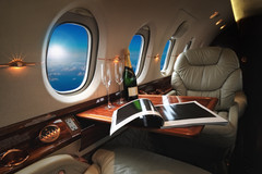 luxury interior in the modern  business