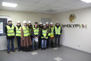 Экскурсия по заводу «ЭЛЕКТРУМ» для студентов