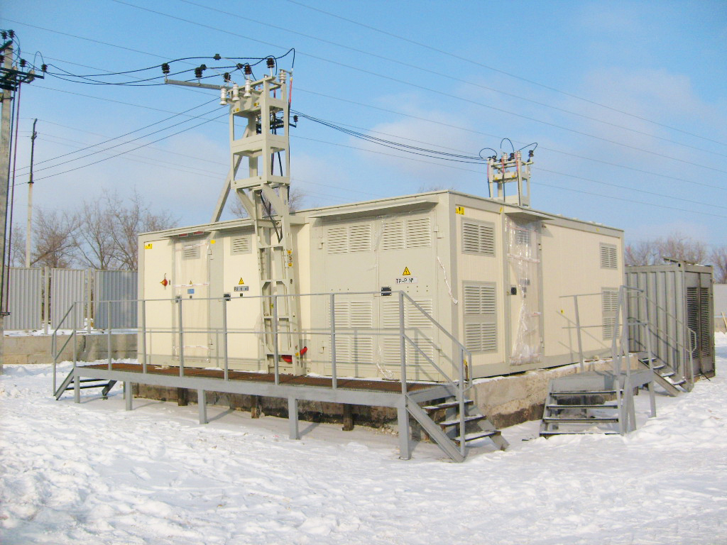 2КТП  «Континент» с ДГУ 250 кВт