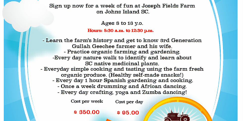 Summer Camp at Joseph Fields Farm