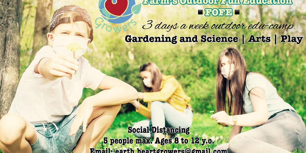 Farm's Outdoors Fun Education (FOFE) Camp