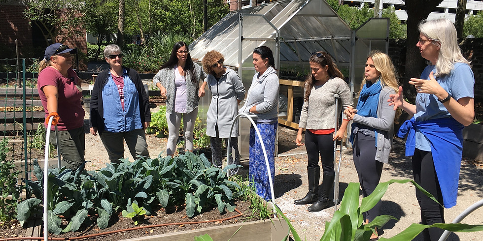 Garden Teacher Training. May 29th and 30th, 2021