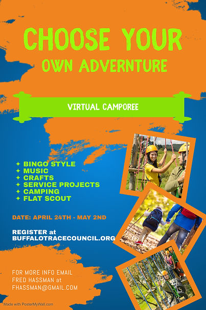 Copy of Adventure Obstacle Park Flyer Te