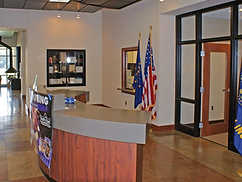 Lobby of Eykamp Scout Center