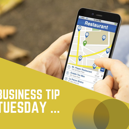 Tuesday Tip: If you're not on Google My Business...Get started today!