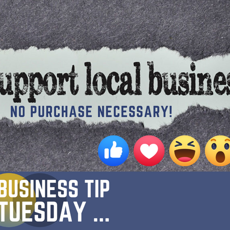 Tuesday Tip: Support Local