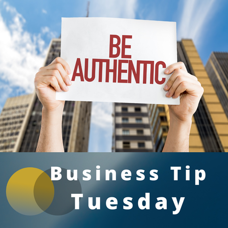 Authenticity is key to small business marketing!