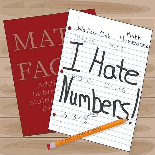 I Hate Numbers! HardCover