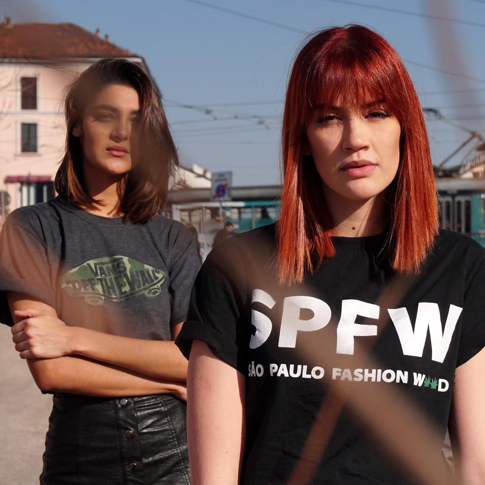 Ana Perri and Carolina Martins