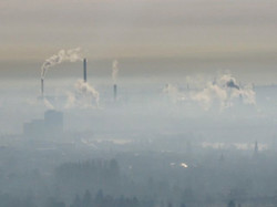 Air-pollution & climate-change feedback?